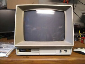 Vintage ZENITH DATA SYSTEMS Computer Color Monitor ZVM-130 Maybe New??? AS IS!!!