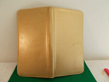 Vintage West Germany Gold Leather Zippered Manicure Case with 8 pieces
