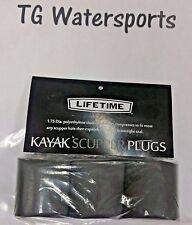 Lifetime Kayak Scupper Plugs, 3 pack.