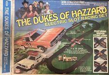 Vintage 1981 Ideal The Dukes of Hazard Electric Slot Car Racing Set Original Box