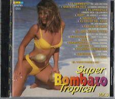Super Bombazo Tropical Volume 3  Latin Music CD New