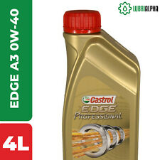 Olio Motore Castrol EDGE Professional A3 0W40 TITANIUM FST 4 Litri