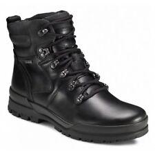 Ecco Track 6 GTX Men's Plain Toe Boot - Black, size 45 (11-11.5)