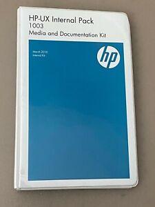 HP UX Internal Pack 1003 (March 2010) 12 Disks & Documentation Kit.