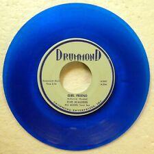 Five Scalders 45 Girl Friend /Willow Blues Repro Blue Wax doowop Mint- c3753