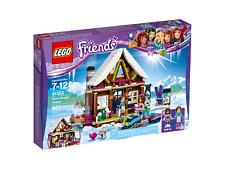 Lego 41323 Friends Snow Resort Chalet Vacances Neige Ski neuf