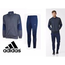 New AY3018 Men's ADIDAS ICONIC TRAINING Tracksuit GENUINE TOP +BOTTOMS UK 46-48