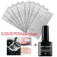 ongles Fibre de verre Fibre de verre Non - tissé Gel renforcé de fibres ongles