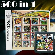 500 in 1 Video Game Card Cartridge Multicart For Nintendo NDS NDSL NDSi 3DS TOPS
