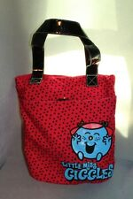 Roger Hargreaves Little Miss Giggles Red Polka Dot Tote Bag Purse