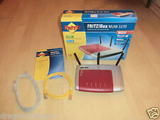 AVM Fritz!Box WLAN 3270 DSL WLAN Router, VoIP, DEFEKT, kein DSL-Empfang