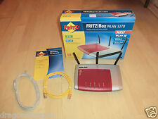 AVM FRITZ! BOX WLAN 3270 DSL WLan Router, VoIP, difettoso, nessun DSL ricezione