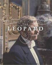 The Leopard (Blu-ray Disc, 2010, 2-Disc Set, Criterion Collection) FACTORY SEAL