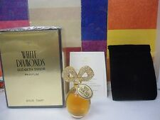 WHITE DIAMONDS  by ELIZABETH TAYLOR 25.OZ - 7.5ML PURE PARFUM VINTAGE SEALED