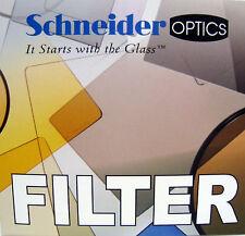 New Schneider Optics 62mm Black Frost 1/2 Round Glass Filter 68-083262