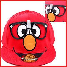 Sesame Street Elmo Nerd Glasses Flex Fit Hat Teen Adult Size Cap Trucker Hat