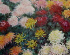 Claude Monet•BOUQUET OF CHRYSANTHEMUMS 1897 Impressionism•24x32 Poster