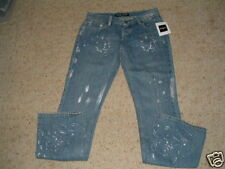 GUESS BUTTON FLY PAINT SPATTERED JEANS GUESS SIZE 26 REGULAR NWT