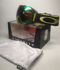 New Oakley Snow Goggles Airbrake XL Citrus Black W/ Prizm Jade + Rose OO7071-17