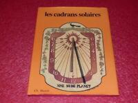 [ARTS DECORATIFS] JEAN-MARIE HOMET / LES CADRANS SOLAIRES Ca 1980 Massin