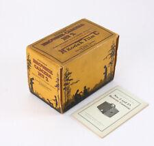 KODAK BOX AND INSTRUCTION BOOK ONLY FOR NO. 2 BROWNIE (NO CAMERA)/cks/214192