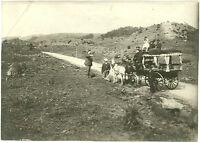 Die letzte Kutsche, Original-Fotografie, von 1908