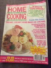 HOME COOKING MAGAZINE FOR TODAYS LIFESTYLE JULY - AUGUST 1992