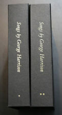 SONGS BY GEORGE HARRISON VOLUMES 1 & 2 SIGNED #1374 /2500 Genesis Publications