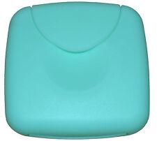Tampon Box / Dose für Tampons/Binden/Slipeinlagen o.b. Tamponspender Mint/Türkis