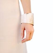 BUFFALO HORN WOMEN BANGLE BRACELET HANDMADE Height ~4.5 CM ; Diameter ~6.5 CM