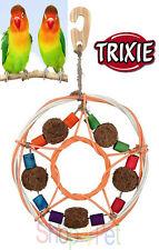 Trixie oiseau cage jouet 100% de matériaux naturels, osier, fibres de coco et bois