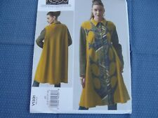 Vogue 1331 DESIGNER KOOS Couture Wearable art Coat Size 6-14 sewing Pattern