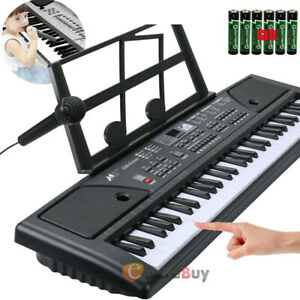 61-Key Digital Music Piano Keyboard- Portable Electronic Musical Instrument