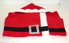 """St. Nicholas Square Child's Santa Suit Bath Towel Shower Wrap ~ 25"""" x 48.5""""  NEW"""