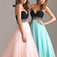 Women Chiffon new big swing Evening Party Prom Gown Bridesmaid Formal Long Dress