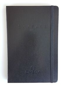 Omega 007 Skyfall Black Notebook