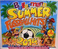 3 CD Set + Stimmung Ballermann + 60 Hits Party Fete + Summer Fussball Hits 2014