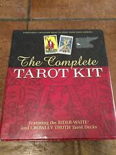 The Complete Tarot Kit Featuring The RIDER-WAITE and CROWLEY THOTH Tarot Decks