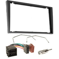 Vauxhall Corsa C Tigra Vectra Double Din Stereo Fascia Fitting Kit Adaptor