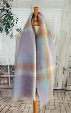 ROYAL SCOT Pastel Mohair & Wool scarf
