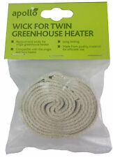 Pack 4 Replacement Wicks for greenhouse Heaters Parasene and Apollo