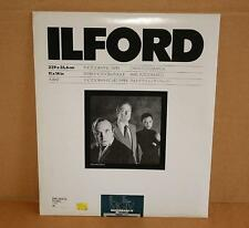 Ilford Multigrade IV RC Deluxe MGIV 11x14 Pearl 10 Sheets Photographic Paper NOS