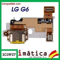 PLACA DE CARGA PARA LG G6 H870 CONECTOR PUERTO USB ANTENA MICROFONO FLEX  MODULO