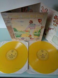 ELTON JOHN-GOODBYE YELLOW BRICK..RARE YELLOW VINYL! SUPERB 1ST UK PRESS LP 1973