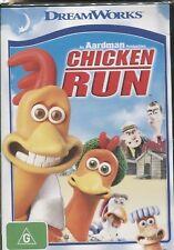 CHICKEN RUN -  Mel Gibson, Julia Sawalha, Phil Daniels - DVD