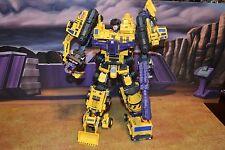 Maketoys Yellow Giant aka G2 Constructicons G2 Devastator