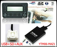 Yatour Digital CD Changer for Mazda interface Car Audio Stereo Adapter SD USB