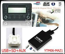 Yatour Digital CD Changer for Mazda interface Car Audio Stereo Adapter SD USB