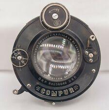 "G.Rodenstock Eurynar 13.5cm 135mm F4.5 4x5"" Large Format Lens w/ Compur Shutter"