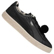 PUMA x Tinycottons Basket PomPom Kinder Sneaker 366192-01 Gr. 21 schwarz neu